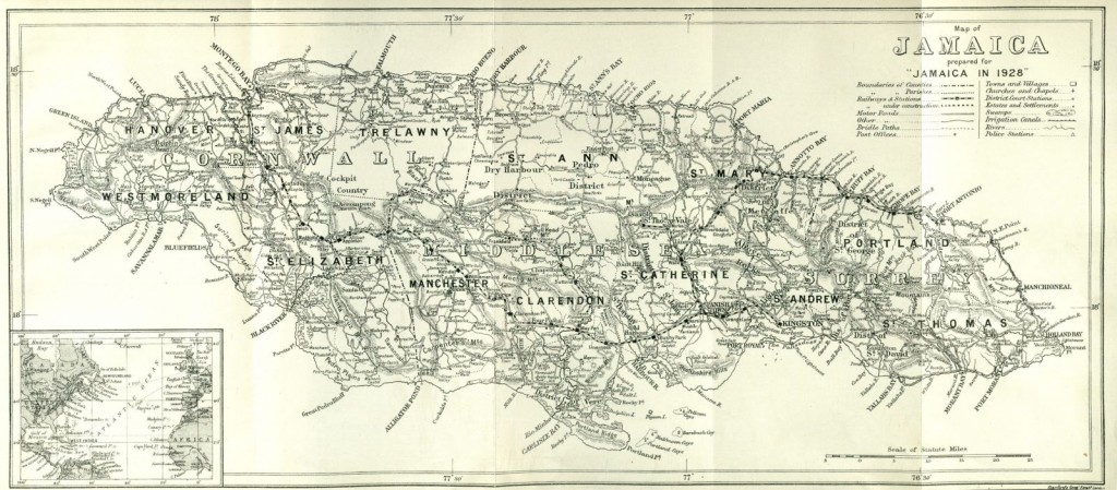 old-map-jamaica