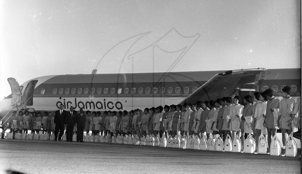 Throwback Thursday: Air Jamaica's First Flight | diGJamaica Blog