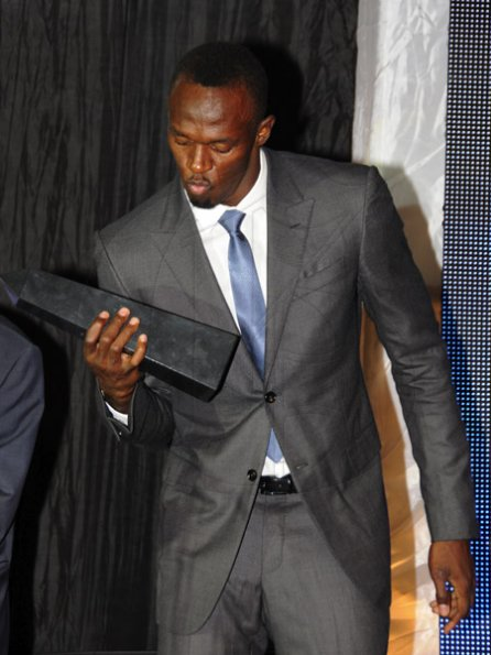 usain bolt-honour awards-2013