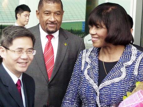 Jamaica's Prime Minister Portia Simpson Miller