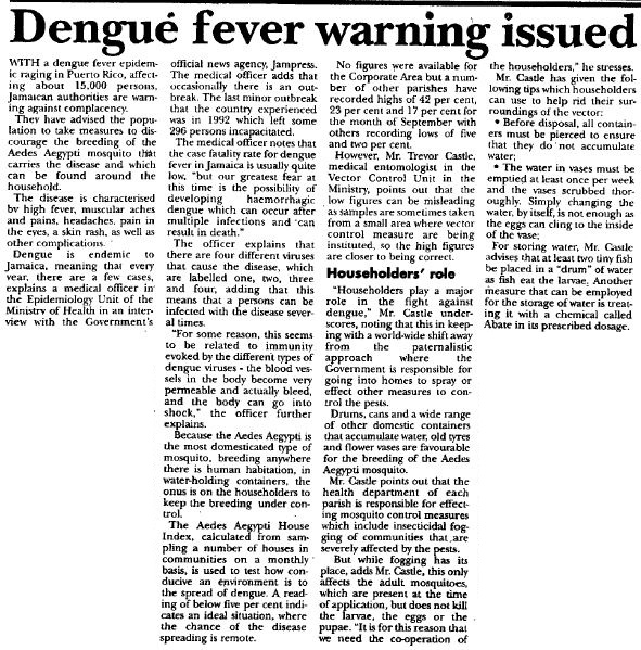 dengue fever 3 essay Flavivirdae dengue virus what is the agent of dengue fever sudden high fever (39-41c) severe frontal headache, eye pain severe joint pain and muscle pain myalgia, nausea, vomiting, change in taste sensation maculopapular rash dengue hemorrhagic fever (dhf) - 50% fever what are the signs and symptoms of dengue fever.