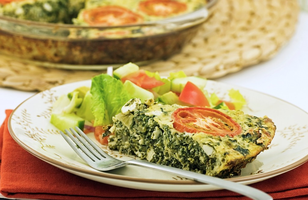 Contributed Photo Callaloo Quiche, by Fuzion Food Services