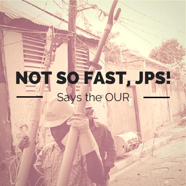 NOT SO FAST, JPS! (1)