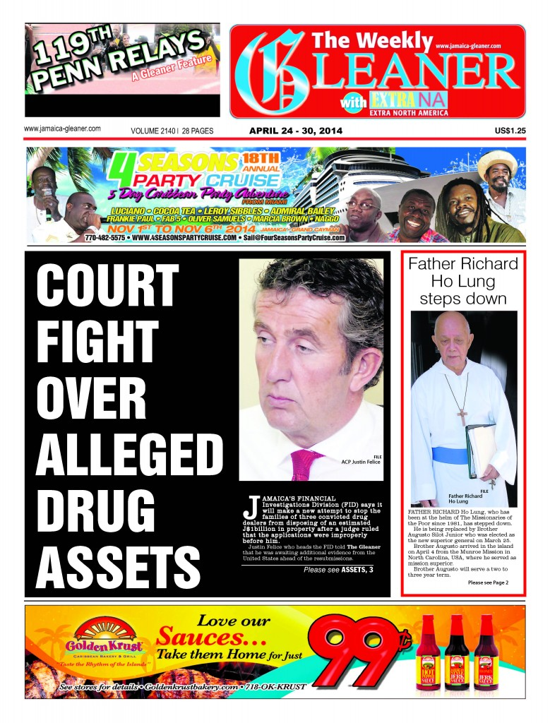 THE NA WEEKLY GLEANER APRIL 24 - 30, 2014