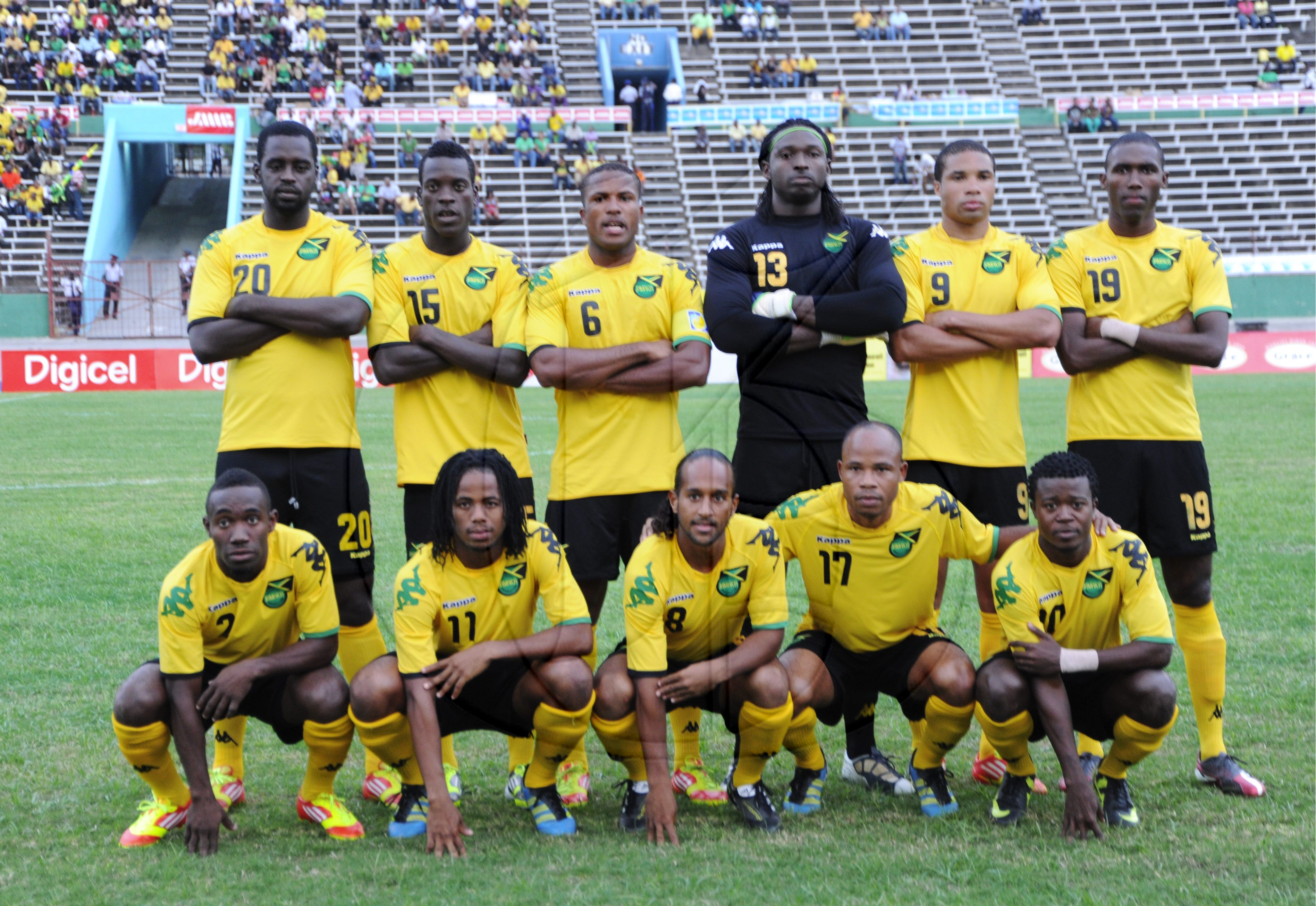 The Reggae Boyz Through The Years Dig Jamaica