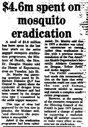 Dengue 1977