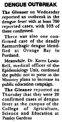 Dengue 1995 2