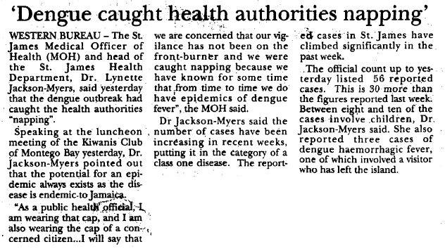 Dengue 1995