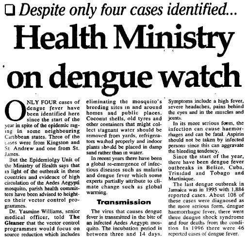 Dengue 1997