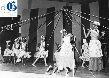 Haddo Primary School girls dance the Maypole in one of the highlights of Mello-Go-Roun 1972