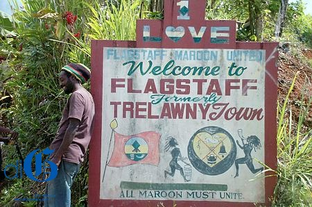 The community of Flagstaff in Maroon Town is said to be home to the richest collection of maroon heritage in Jamaica.