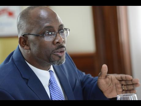 Patrick Wright, finance and planning executive at the Administrator General's Department