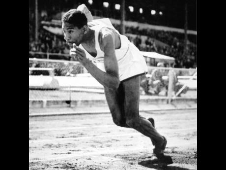 Jamaica's first Olympic medallist, Arthur Wint