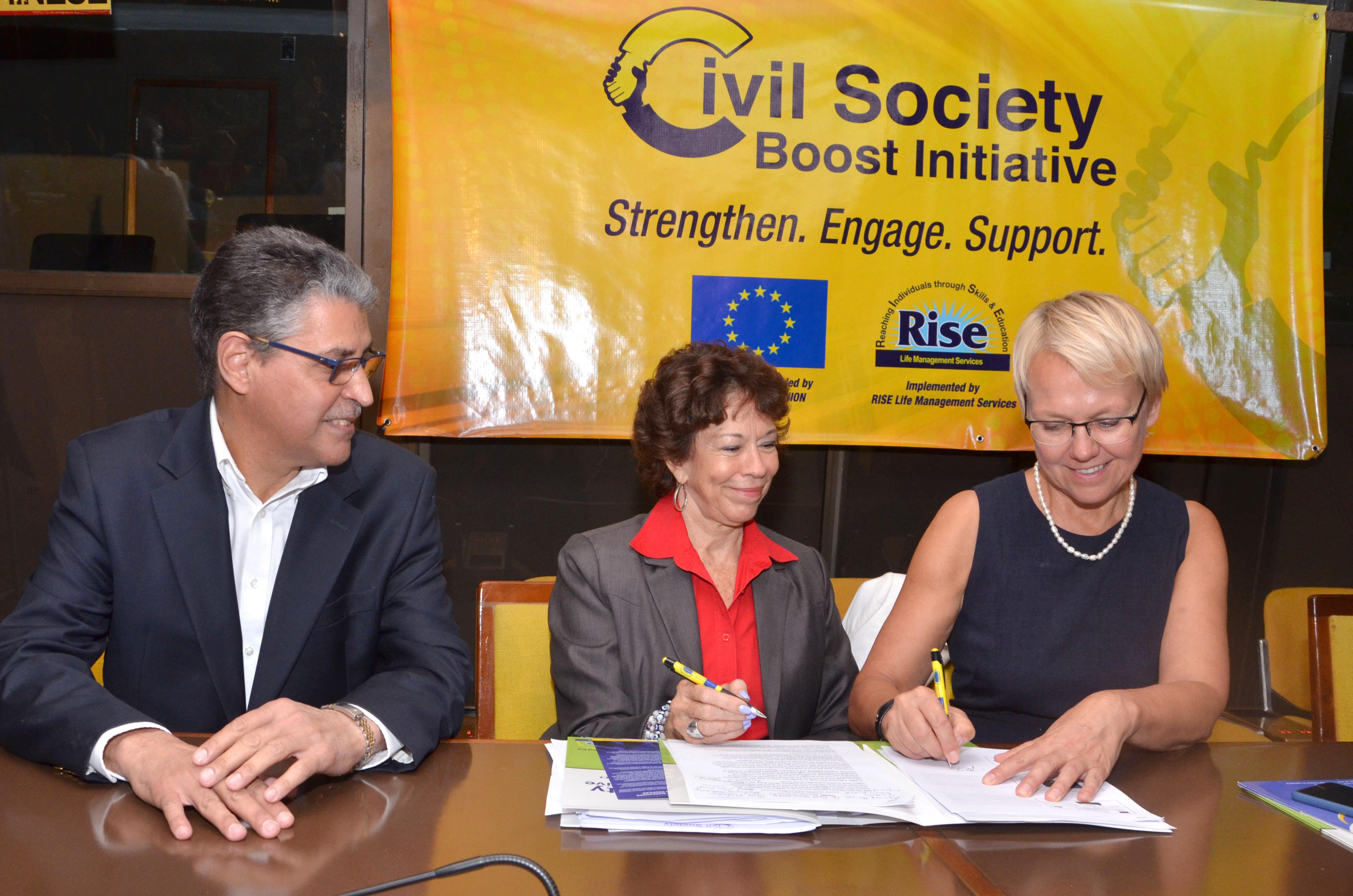 Signs of civil society