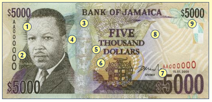 Image From Bank Of Jamaica Website